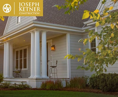 A colonial style home with James Hardie Siding in Portland OR